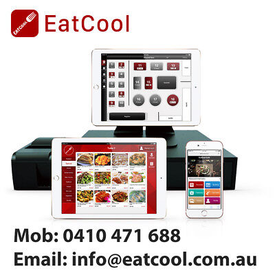 EatCool cloud base POS system for restaurant Cafes Takeaways Bars & Food trucks