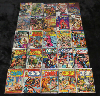 Conan The Barbarian 20 - 227 Marvel Comics Collection King Classic Adventurer 1