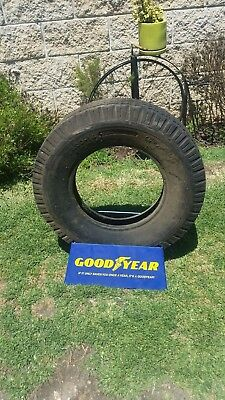 GOOD YEAR TYRE DISPLAY STAND retro vintage oil botte petrol sign 1970's 1980's