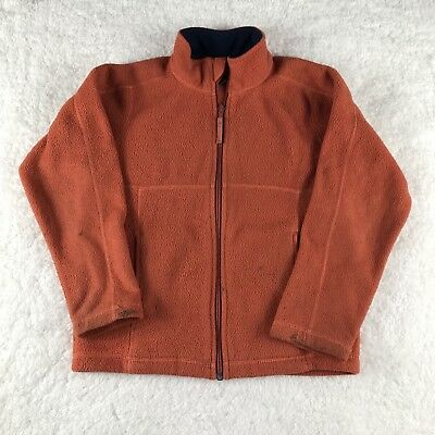LL Bean Kids Sweater Orange Used