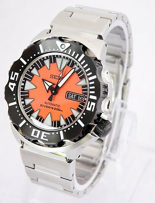 Seiko Superior SRP315K2 AKA Orange Monster 4R36 Automatic Watch