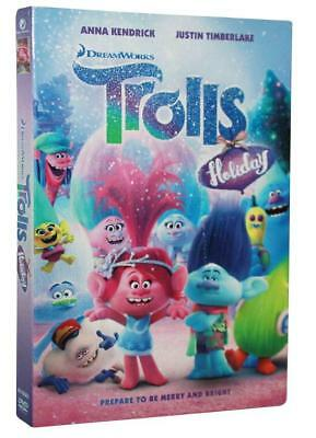 Trolls Holiday(DVD , 2017 ,1-Disc Set)Brand New Sealed