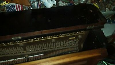 1890-95 Vose & Sons upright piano