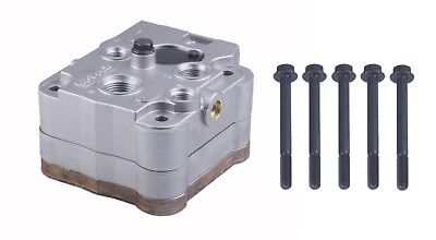 Air Brake Compressor Cylinder Head With Plate Kit for BENDIX BA921 , DDC S60