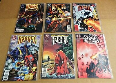"LOT OF 6 x DC COMICS ""AZRAEL COMICS""  NEW/UNREAD NM 1995/96/97"