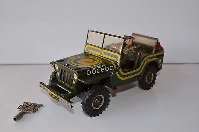 Arnold J 2600 U.S. Army Jeep Willys m. Fahrer Constabulary 1949 US Zone Rarität