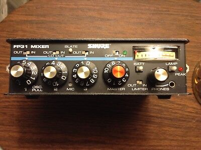 Shure FP31 Audio Mixer