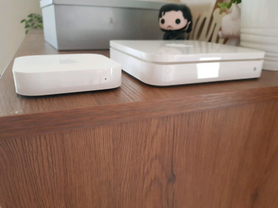 Apple Airport Extreme + Airport Express Router