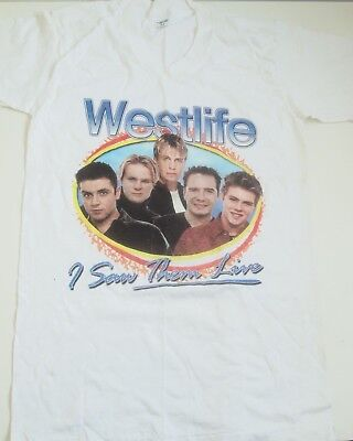 Westlife Tour T-shirt - I Saw Them LIve
