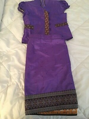 lao sinh/Lao kids outfit size 4-5