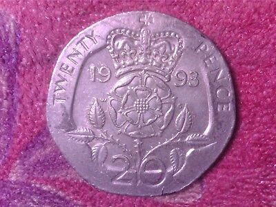 Great Britain   20 Pence  1993