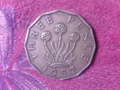 Great Britain   Threepence   1952  Su