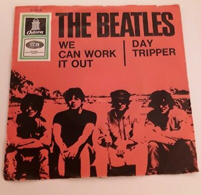 The Beatles - We can work it out (1965) Vinyl 7` inch Single