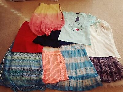 Lot of 7 to 9 year old girl clothes