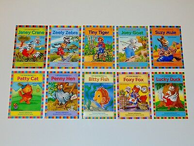 Set 10 Let's Read Together Books Kids Early Readers Short and Long Vowels Lot A