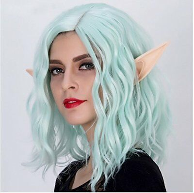 Anime Large Pointed Elf Ears Soft Cosplay Costumes for Halloween Party Fantasy