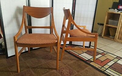 Vintage Mid Century Danish Modern Side Chairs