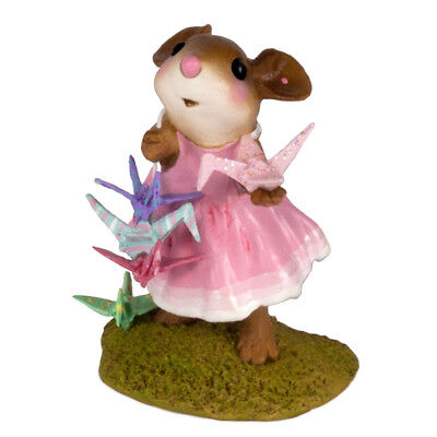 Wee Forest Folk M-321b A Wish for Happiness in Pink! - Special