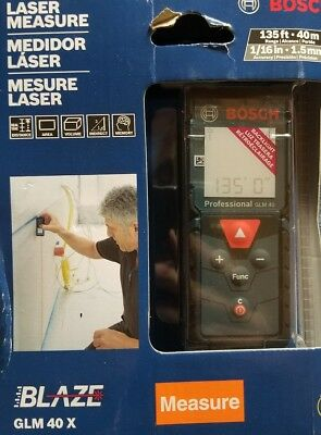 BOSCH GLM 40X 135ft LASER MEASURE brand new