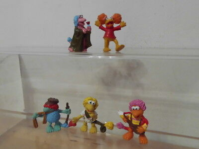 Fraggles Fraggle Rock Jim Henson Schleich 5 x Figur: Gobo,Wembley,Mokey,Red..