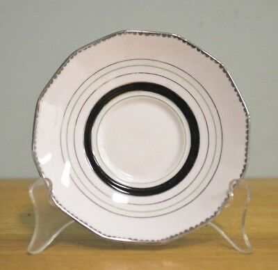 Vintage fine china saucer / plate Plant Tuscan reg 780986 DPLW A12
