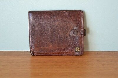 Vintage Mens Oroton leather wallet Carlton Calf, England