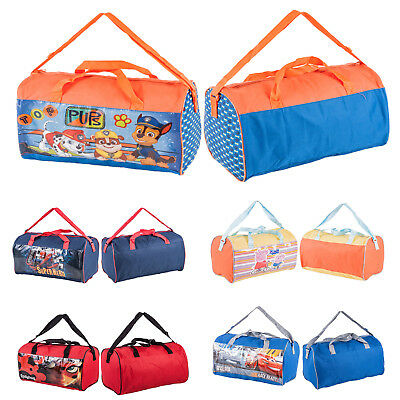 Kids Character Sports Bag for Gym Swimming Holdall Duffle Bags for School Picnic
