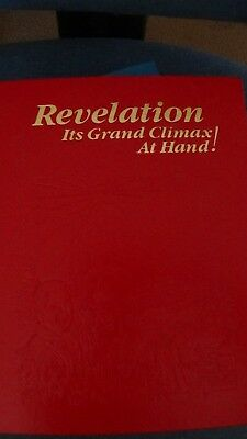 """Watchtower's 1988 """"Revelation- It's Grand Climax """" 320 pg book"""