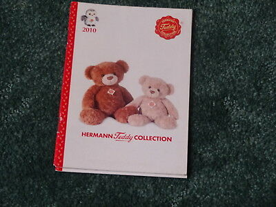 New! Hermann Teddy Collection 2010 Catalogue