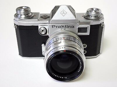 Praktina FX IIa German KW Camera with Carl Zeiss Jena Flektogon 2.8/35mm lens