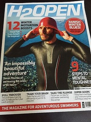 H2OPEN Swimming Magazine Issue 39 December 2016 January 2017