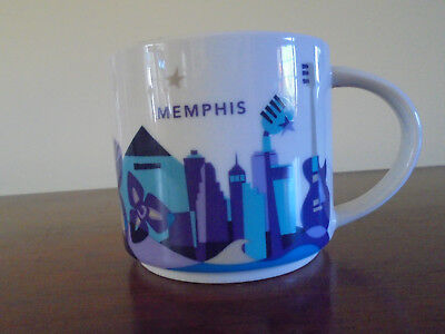 Starbucks You Are Here Collection Memphis Mug EUC