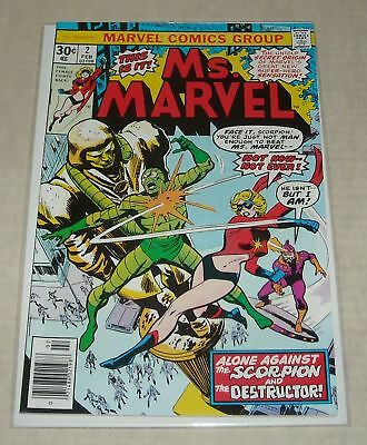 Hi GRADE KEY 1977 Ms. MARVEL #2 ORIGIN CAROL DANVERS GGA BELOW GUIDE