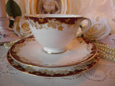 Vintage Royal Doulton trio Winthrop lovely condtion