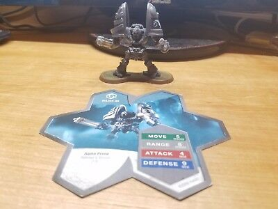 Heroscape Major Q9 Raknar's Vision 2/5 with Card Amazing Condition!
