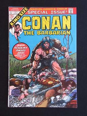 Conan The Barbarian King-Size #1 MARVEL 1973 -HIGH GRADE- Barry Smith, Stan Lee