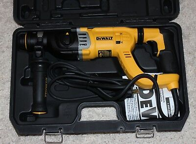 NEW DeWALT D25263K 8.5 Amp 1-1/8-Inch Corded D-Handle SDS Plus Rotary Hammer