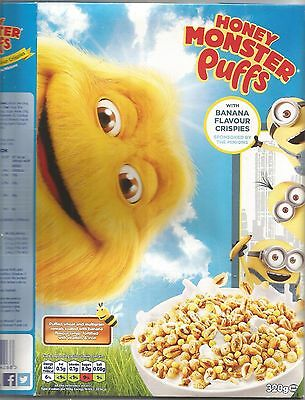 Minions Cereal Box And Two Others From The Uk