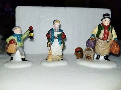 DEPT 56 COME INTO THE INN  3 pc set -Dickens Village Series NIB  RETIRED 55603