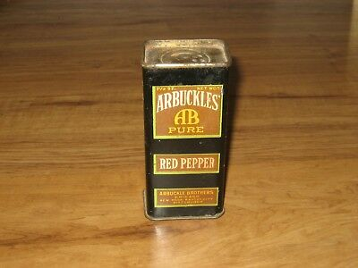 1920's,30's Arbuckles' Red Pepper Spice Tin
