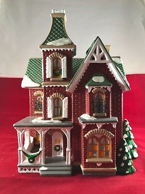 "Dept. 56 Snow Village ""Beacon Hill Victorian"" Free Shipping"