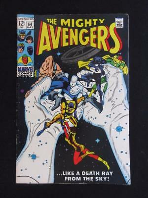 Avengers #64 MARVEL 1969 - NEAR MINT 9.0 NM - Stan Lee, Yellow Jacket, Vision!