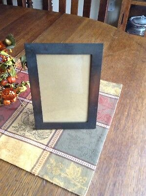 Antique Signed Roycroft Copper Picture Frame ~ Arts & Crafts / Mission