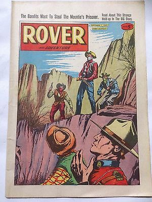 DC Thompson. ROVER & ADVENTURE Comic September 7th 1963.  **Free UK Postage**