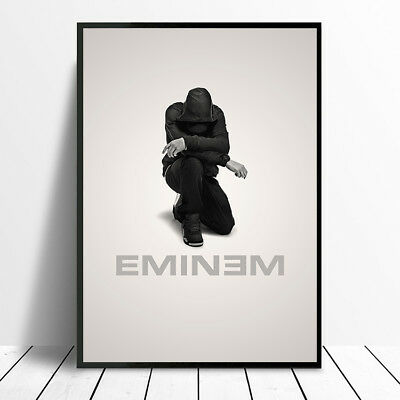 Eminem Poster A4 A3 260Gsm High Quality Glossy Print Picture Photo Rap Music