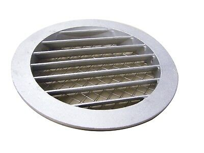 Aluminum Round Grid Air Vent Spiral Ducts Exhaust Grid Insect Net