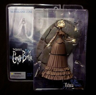 McFarlane Series 1 Corpse Bride Tim Burton Victoria Everglot Action Figure