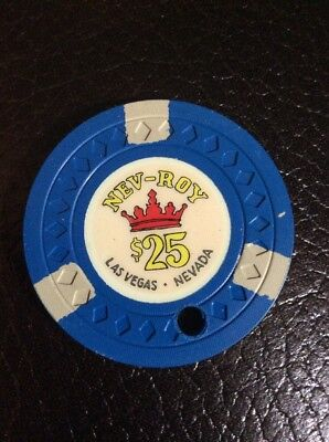 Royal Nevada $25 Casino Chip- Obsolete- Free Shipping
