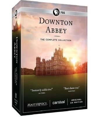 Downton Abbey The Complete Series Collection (DVD,22-Disc Set,Seasons 1-6) US