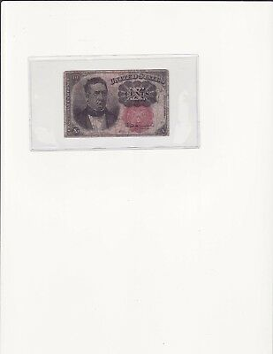 10 Cents Fractional Currency, United States